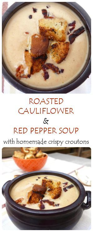 Soup is great any time of the year and this roasted vegetable version makes a fantastic weekday, budget friendly meal for the whole family to enjoy