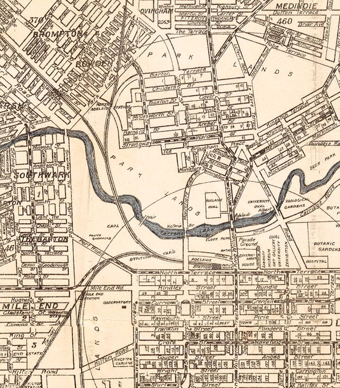 Great Map of Adelaide Australia 1920 - product image