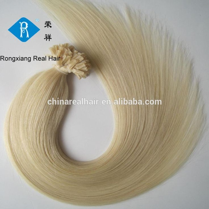 Top quality human hair blonde 1gram u tip pre-bonded hair extensions