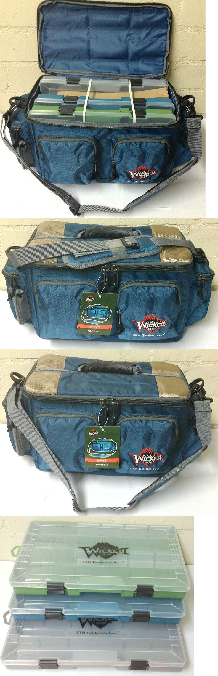 Fishing tackle craft supplies - Tackle Boxes And Bags 22696 Gift Idea Wicked Gear Fishing Tackle Duffle Bag W