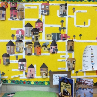 This is now- urban and rural communities-student group art assignment.