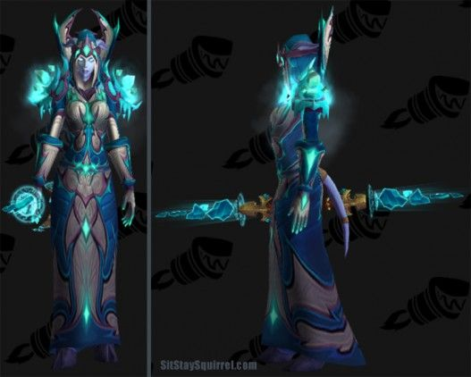 Frost Mage Transmog Set Ideas (Set 1)