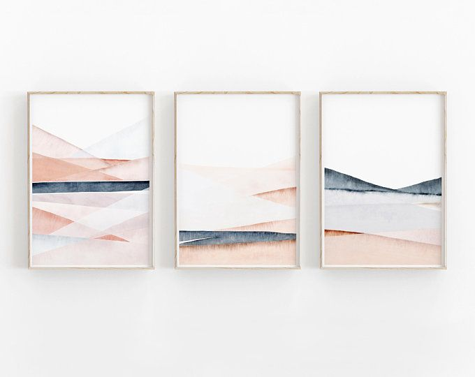 Australian Art Instant download whimsy Digital download Printable art Watercolour print Abstract art Watercolour abstract landscape