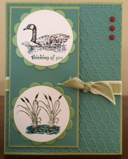 159 best moon lake stampin up images on pinterest masculine cards stampin up moon and lake loon card bookmarktalkfo Choice Image