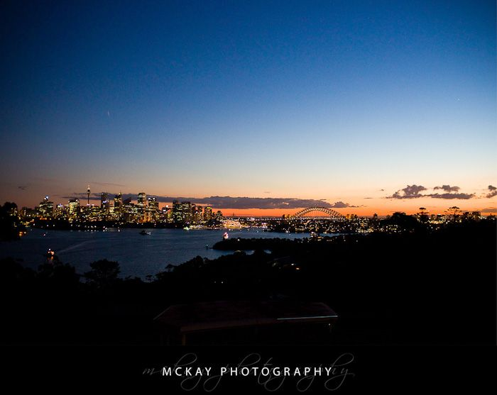 The view from the Taronga Centre - wedding reception venue Sydney