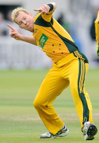 /\ Brett Lee - loved watching him constantly steaming in. A true entertainer of the game.