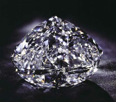 The De Beers Centenary Diamond    As a flawless diamond in all respects, this 273.85 carat diamond has the distinction of being the 3rd largest in the world.