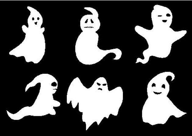 Dibujos de fantasmas para colorear - IMujer
