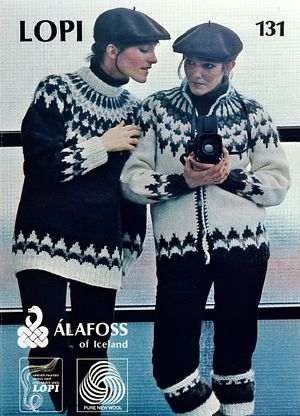 Knitted Icelandic Sweater Pattern