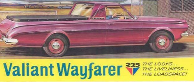 1966 Valiant AP6 Wayfarer brouchure