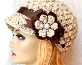 Crochet el sombrero de mujer vendedor de por JadeExpressions