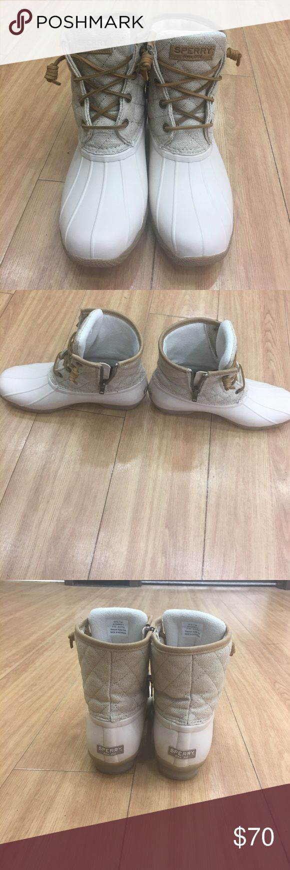 Sperry top sider Great condition , only worn a few times Sperry Shoes Ankle Boots & Booties