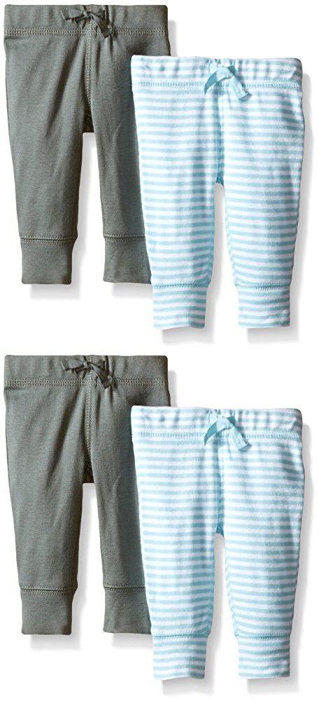 Carter's Baby Boys' 2 Pack Pants (Baby) - LightBlue - Newborn