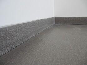 beton unique - beton cire: Sockelleisten aus Beton