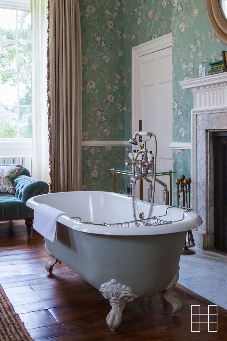 Traditional English chintzes and soft, light colours combine with signature Soho House design touches like our famous freestanding baths in bedrooms, while open fireplaces and rich textiles complete the cosy feel.