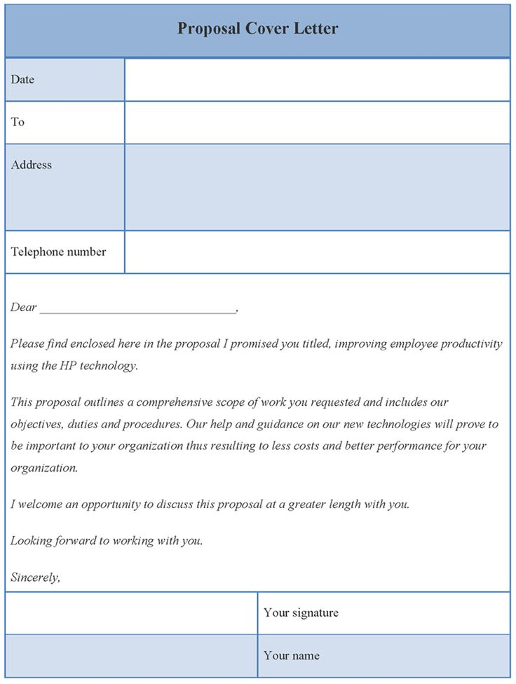 cover letter template for proposal format grant sample business