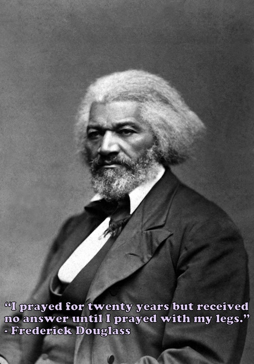 Today in History: Frederick Douglas is Born. Abolitionist, orator, writer, and statesman