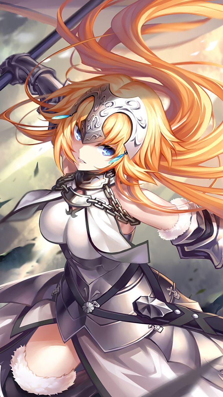 Anime Fate Grand Order Fate Series Armor Blue Dress Blue Eyes Fate