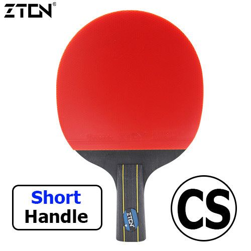 Table tennis Double pimples-in rubber Ping Pong Racket fast attack and loops or chop type player
