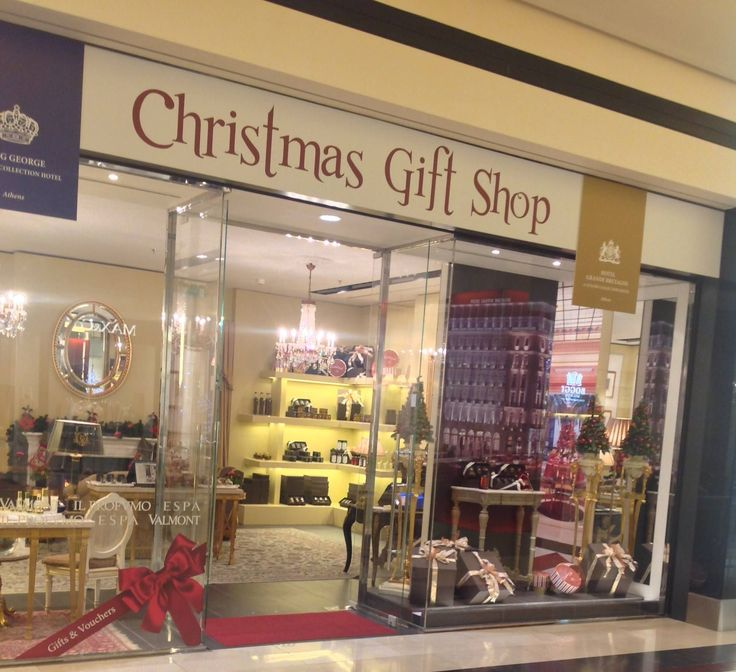Festive season in 2013 also featured pop-up store in Golden Hall, Athens where Hotel Grande Bretagne introduced GBstore products, including Valmont cosmetics and Il Profumo