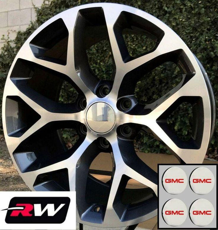 Details About 24 Inch Gmc Sierra 1500 Oem Specs Wheels Snowflake