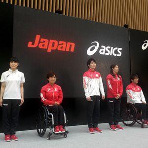 アシックスがリオ五輪日本代表ユニフォーム発表桜がモチーフに