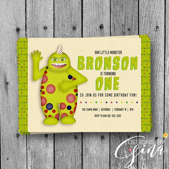 11 best Designs by Gina images on Pinterest Custom invitations - best of invitation name designs