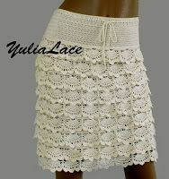 Tina's handicraft : crochet skirt