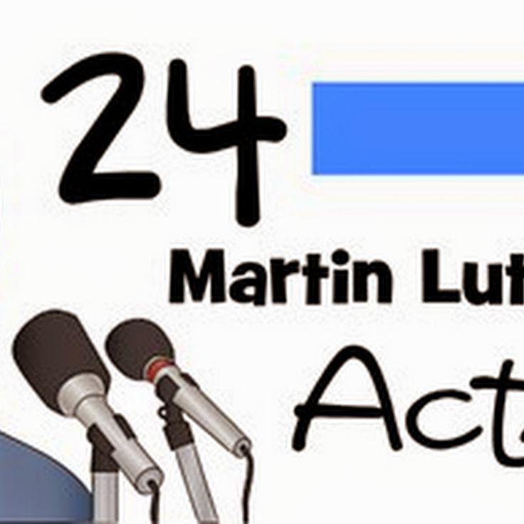 24 Martin Luther King Jr Activities & TGIF http://www.123homeschool4me ...