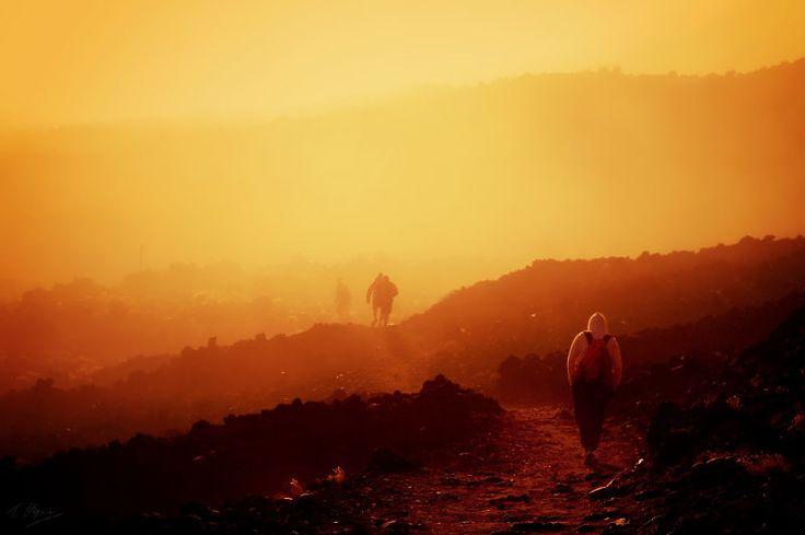Approaching Mt. Doom