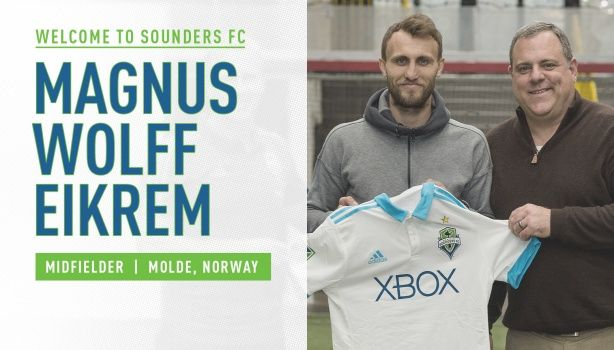 Welcome Magnus to Seattle FC