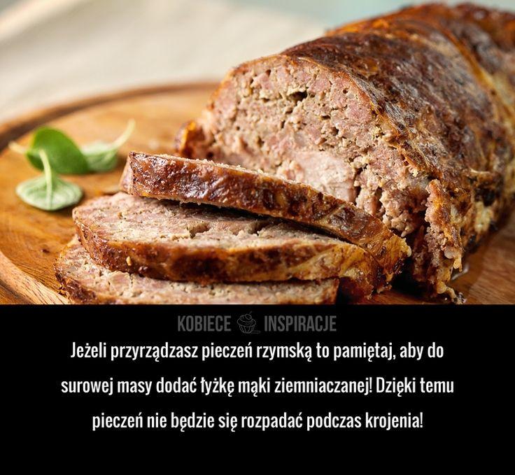 PAMIĘTAJ O TYM jeżeli robisz pieczeń rzymską!