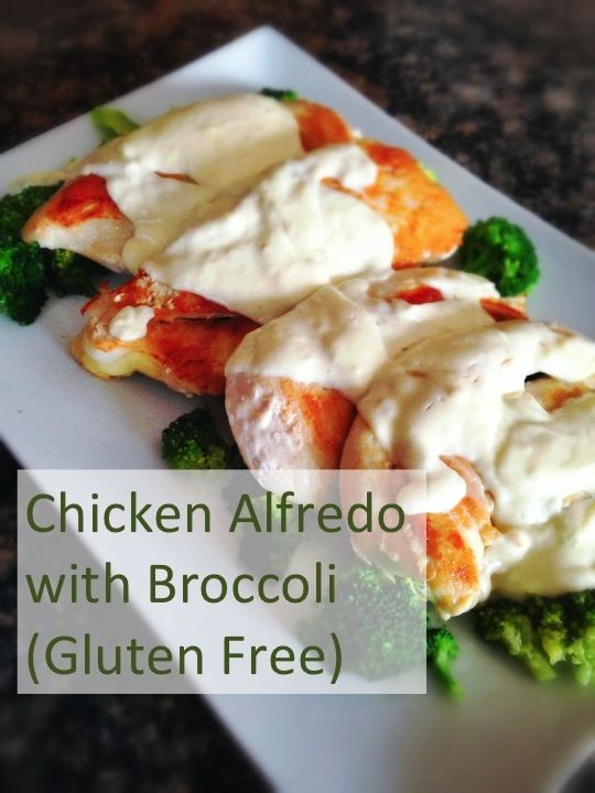 Gluten Free Chicken Alfredo with Broccoli, easy weeknight dinner from An Everyday Blessing