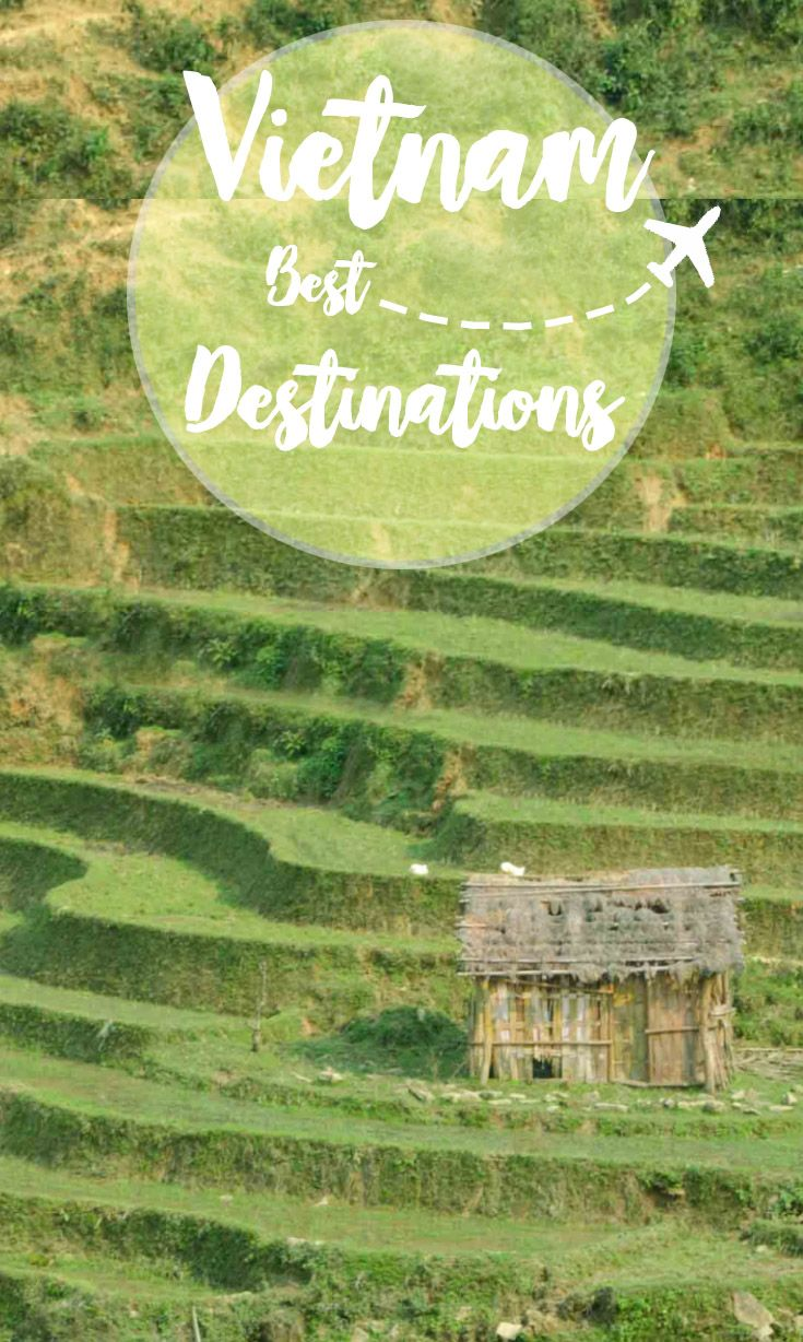 Traveling to Vietnam and looking for the best Vietnam destinations? You'll want to narrow it down to the best places to visit in Vietnam.  via @gettingstamped
