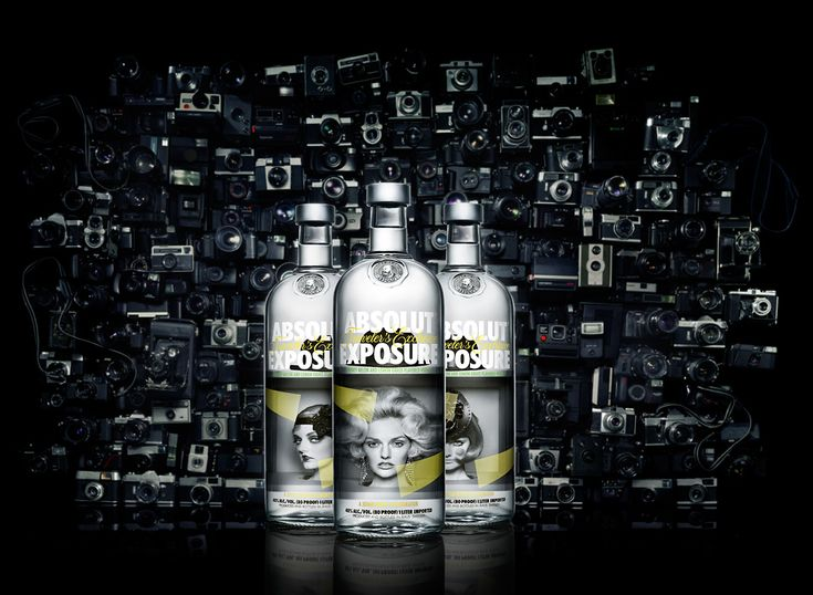 Fashion assistant for the limited bottles of Absolut Vodka 2013.