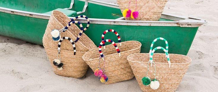 Genti impletite din paie ideale pentru plaja sau outfituri urbane