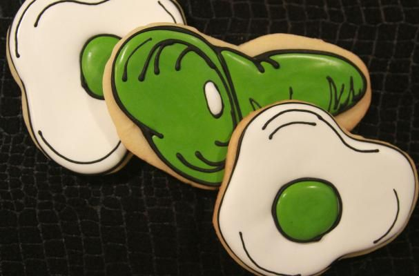 Green Eggs and Ham Cookies | Love it, Hams and Blog