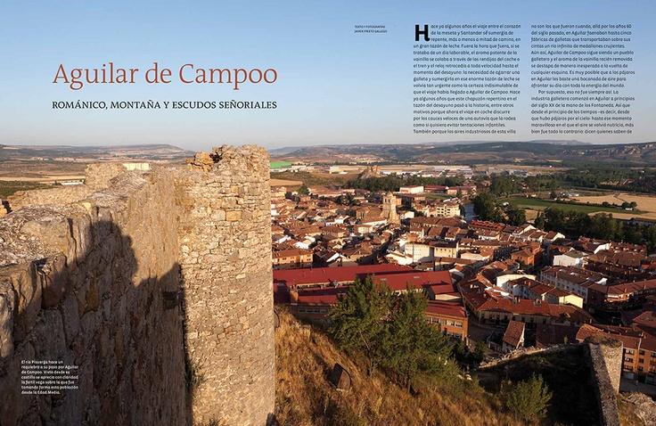 Reportaje sobre Aguilar de Campoo en el número 48 de la revista PATRIMONIO realizado por Javier Prieto Gallego www.siempredepaso.es
