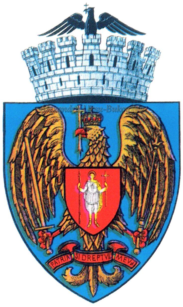 Stema orașului București.