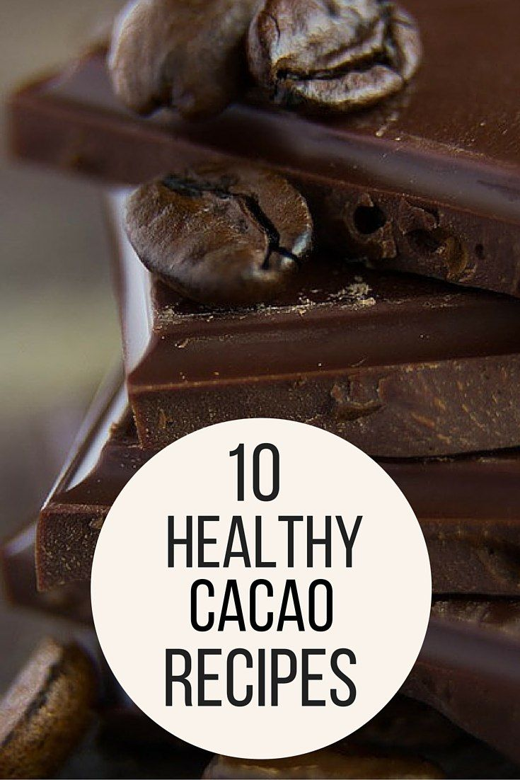Cacao is the IT superfood. Full of antioxidants and nutrients for a healthy body, adding Cacao to your diet is easy with these recipes. - http://everyhomeremedy.com/top-10-cacao-recipes