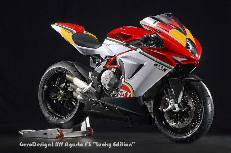 MV Agusta F3 GeroDesign!  Lucky