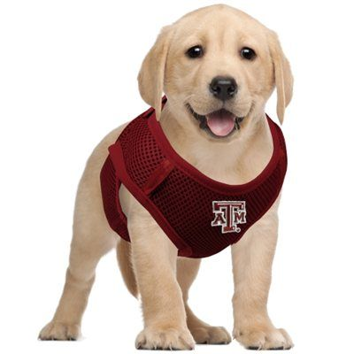 Texas A Aggies Pet Vest Harness - Maroon #aggiepets