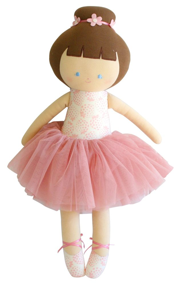 Alimrose Big Ballerina Doll 50cm Strawberry Ivory ...