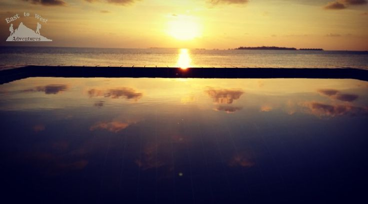 Sunset in the Maldives #easttowestadventures #maldives #sunset #  #travelphotography #travelphotographer #ireland #jordan #adaraanprestige  #honeymoon #5starmeal #watervilla #privatepool #indianocean #whitesand #palmtrees #privateisland #onceinalifetime #stepstothesea