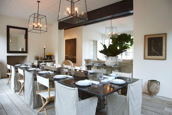 mesas de  comedor grande rectangular para 12 personasmodelo  Yin yang de kenneth