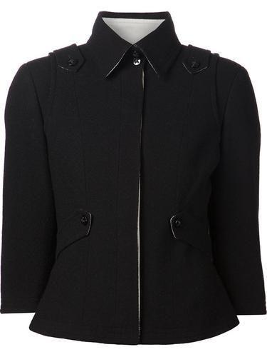 CHANEL VINTAGE cropped jacket #jacket #chanel #designer #covetme #chanelvintage
