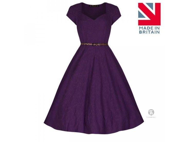 Lindy Bop retro šaty ve stylu 50.let, které nikdy nevyjdou z módy.