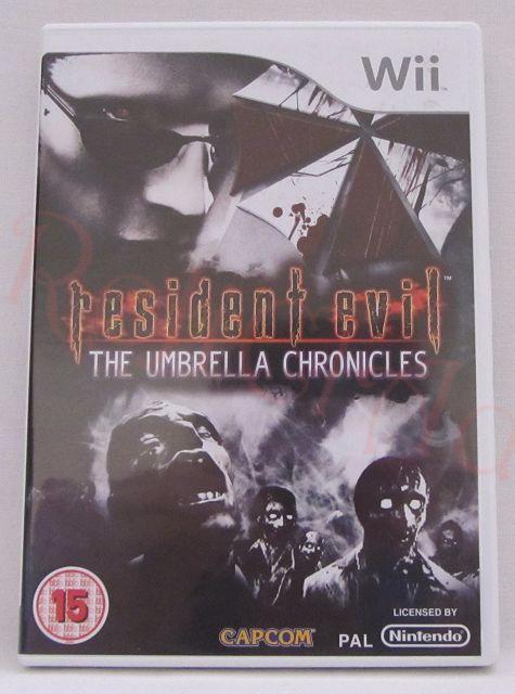 Resident Evil The Umbrella Chronicles Nintendo Wii game