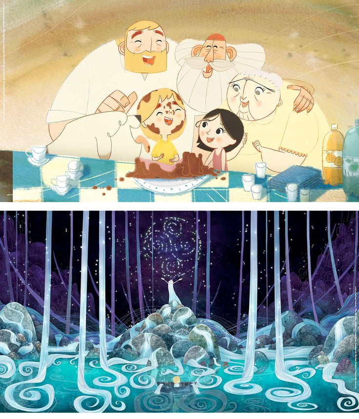 The Song of the Sea, dir. Tomm Moore, production design Adrien Merigeau