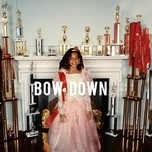 Artwork for Beyonce's new single  'Bow Down/I Been On' released on 3/17/13